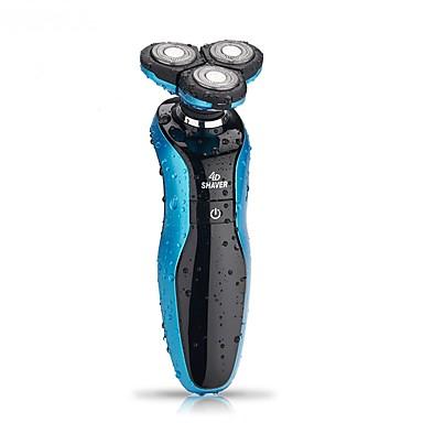 voordelige Slimme elektronica-Elektrische scheerapparaat Waterbestendig Lichtgewicht Licht en comfortabel Handheld Design Wasbaar Heren Gezicht 110-220V Waterbestendig