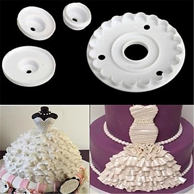 Bakeware tools Plastics Everyday Use Cake Molds 1pc