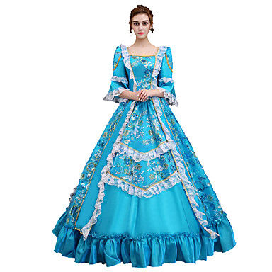 Cinderella Dress Cosplay Costume Masquerade Ball Gown Women\'s ...