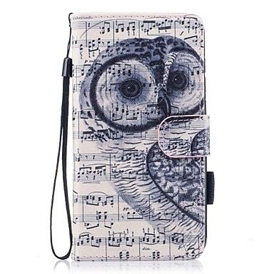 Case For Huawei P10 Lite Card Holder Wallet with Stand Flip Magnetic Pattern Full Body Cases Owl Hard PU Leather for P10 Lite P8 Lite