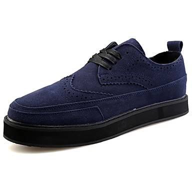 Férfi cipő PU Tavasz / Ősz Kényelmes Tornacipők Fekete / Piros / Kék