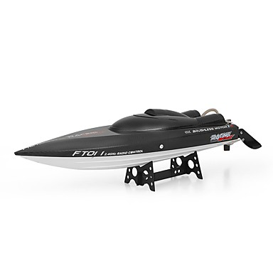 RC Boat FT011 Speedboat Plastic / ABS 4 pcs Channels 55 km/h KM/H