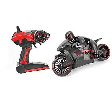 povoljno RC motori-333-MT01B Motocikli RC Car 20 km/h 2.4G Ready-To-Go Daljinski Upravljač / 1. Stanica za punjenje Otporan na udarce / LED svjetlo