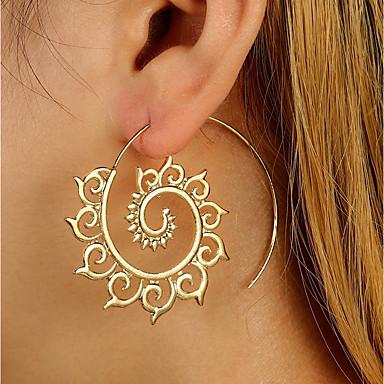 Women's Stud Earrings / Drop Earrings - Personalized, Fashion Gold / Silver For Casual / Club