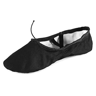 Balettcipők Vászon Talp Személyre szabható Dance Shoes Fekete / Gyakorlat