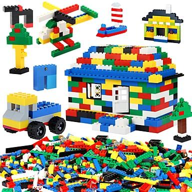 BEIQI Bloques de Construcción Set de construcción de juguetes Juguete Educativo 1000 pcs compatible Legoing Nuevo diseño Manualidades Clásico Moderno Chico Chica Juguet Regalo