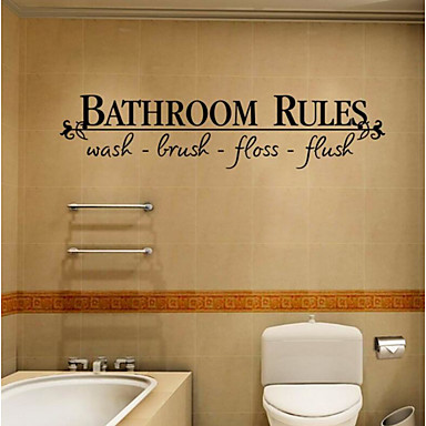 Leisure Wall Stickers Plane Wall Stickers Decorative Wall Stickers, Plastic Home Decoration Wall Decal Wall