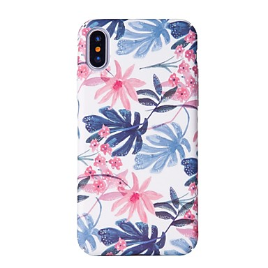 Case For Apple iPhone X / iPhone 8 Pattern Back Cover Tree Hard PC for iPhone X / iPhone 8 Plus / iPhone 8