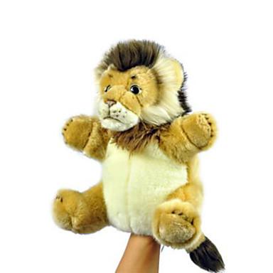voordelige Marionetten-Vingerpoppetjes Poppen Handpop Leeuw Schattig Dieren Pluche Kinderen Volwassenen Speeltjes Geschenk