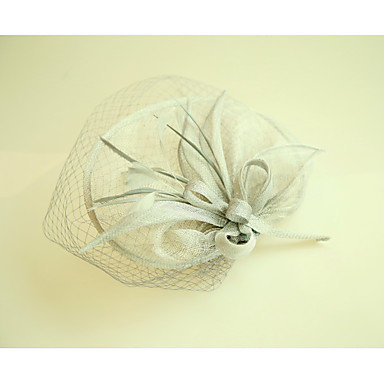 Flax Net Fascinators Hats 1 Wedding Special Occasion Headpiece