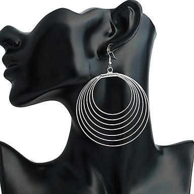 Női Beszúrós fülbevalók / Függők - Személyre szabott, Divat Ezüst Kompatibilitás Színpad / Klub