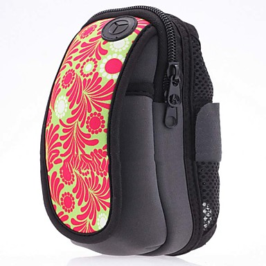 Case For Universal / Other Card Holder / Armband Armband Flower Soft Nylon for