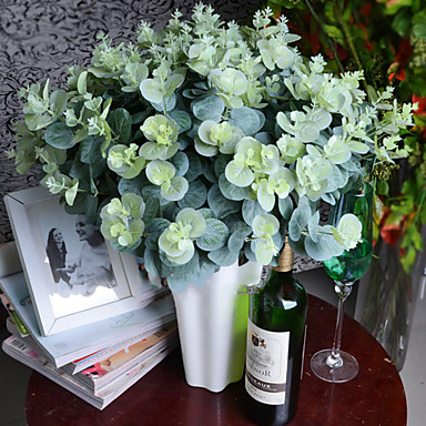 Artificial Flowers 3 Branch Modern / Contemporary Plants Tabletop Flower