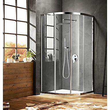 Zuhany csaptelep - Kortárs Króm Zuhany rendszer Kerámiaszelep / Bronz