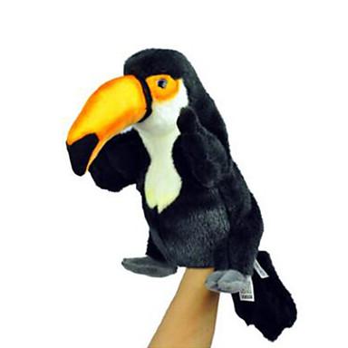 voordelige Marionetten-Vingerpoppetjes Poppen Handpop Vogel Dier Schattig Pluche Kinderen Volwassenen Speeltjes Geschenk