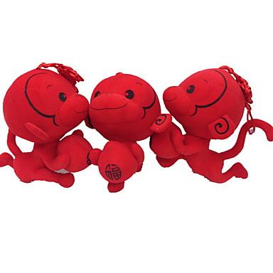 Doldurulmuş ve Peluş Hayvanlar Święto Moda Wzór zwierzęcy 17cm Słodki Bezpieczne dla dziecka Słodkie Sylwester Non Toxic Tradycyjny /