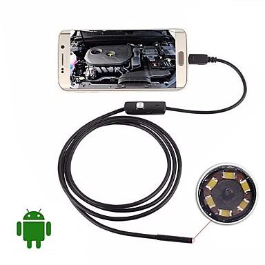 kamera USB endoskop 5 m twardy kabel wodoodporny inspekcja ip67 borescope 5.5mm obiektyw noc wideo wąż kamera na android PC