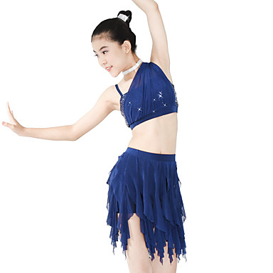 a74046f35 Ballet Outfits Women s Performance Spandex   Elastic   Mesh Wave ...