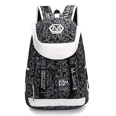 Leinwand Geometrisch Reisetasche Taschen Reißverschluss für Sport & Natur Ganzjährig Schwarz Dunkelblau Kaffee Dunkelrot