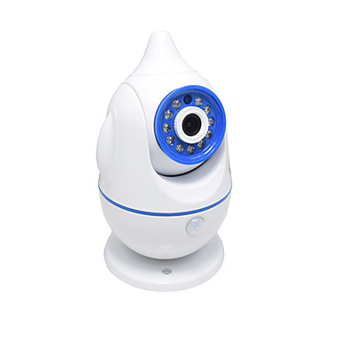 HQCAM® 1.0 MP Baby Monitor IR Camera 90none DO Night Vision Range 10m 2.4GHz