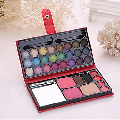 1 pudełko do makijażu 24 cień do oczu 2 rumieniec 2 puder do brwi 1 proszek 4 szminka kosmetyczne