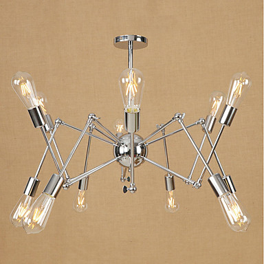 Żyrandole Światło rozproszone - Styl MIni, 3D, 110-120V / 220-240V Nie zawiera żarówki / 15-20 ㎡ / E26 / E27
