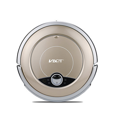 cheap Smart Robots-VBOT Robot Vacuum Cleaner GVR668F Self Recharging Avoids Falling Dry Mopping Remote Automatic cleaning Spot Cleaning Edge Cleaning / Climbing Function / Anti-collision System / Schedule Cleaning Plan