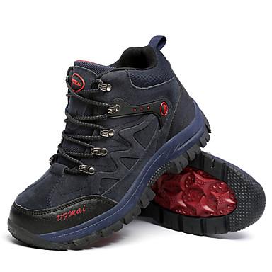 Unisexo sapatos Tule Primavera Outono Conforto Tênis Aventura Cadarço para Casual Marron Cinzento Verde Azul