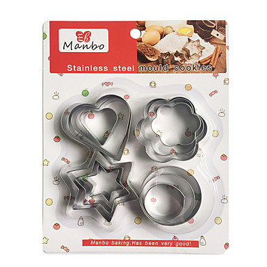 Cookie Tools Novelty Everyday Use Cooking Utensils Steel Artistic