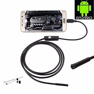 Kamera USB endoskop wodoodporna inspekcja ip67 borescope 8mm obiektyw 3.5 m długość snake noc kamera wideo dla Androida PC