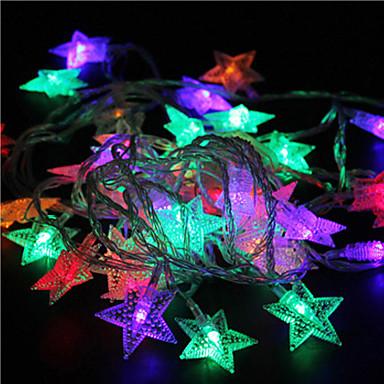 10m 60led rgb lámpák csillag fények ünnep esküvői party dekorációk függöny fények lámpák lámpák 220v