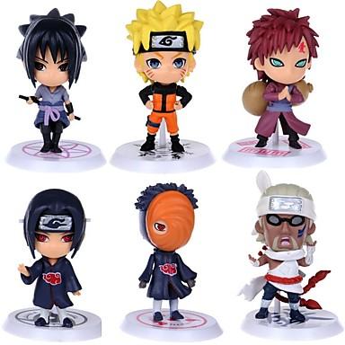 Figurki Anime Zainspirowany przez Naruto Itachi Uchiha Polichlorek winylu CM Klocki Lalka Zabawka