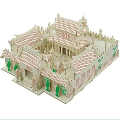Zabawki 3D / Puzzle / Model Bina Kitleri Domy / Moda / Dom Dzieci / Nowy design / Gorąca wyprzedaż Drewno 1 pcs Klasyczny / Nowoczesny / Moda Dla dzieci Prezent