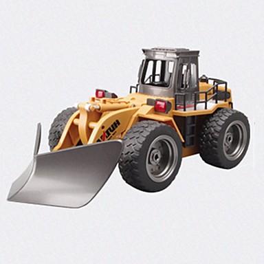 RC samochodów HUINA 586 2,4G Koparka 1:18 10 KM / H Pilot zdalnego sterowania Akumulator Elektryczny