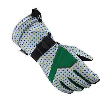Rękawice narciarskie Damskie Rękawiczki z zakrytymi palcami Odporność na wiatr / Wodoodporny / Oddychający Nylon Narciarstwo Zima
