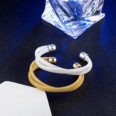 Damskie Bransoletki bangle, Bransoletki cuff - Vintage, Elegancja Bransoletki Gold / Silver Nieskończoność Na Ślub / Zaręczynowy /