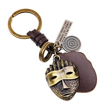 Łańcuszek do kluczy Biżuteria Gold Nieregularny Skórzany Stop Klasyczny Modny Karnawał Wyjściowe Męskie Damskie