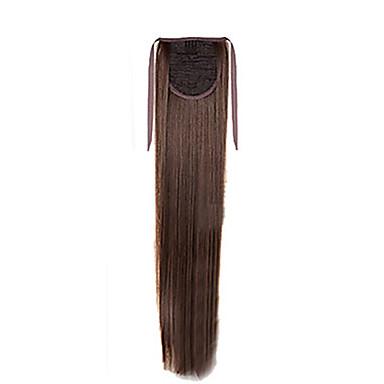 Mikrorengas-hiustenpidennykset Poninhännät Synteettiset hiukset Hiuspalanen Hiusten pidennys Suora
