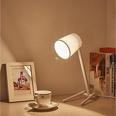 Einfach / Retro / Vintage / Modern / Zeitgenössisch Ministil / Augenschutz Schreibtischlampe Für Stoff 220v Weiß / Schwarz