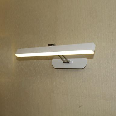 Modern / Contemporary Oświetlenie łazienkowe Łazienka / Domowy Aluminium Światło ścienne IP41 110-120V / 220-240V 8W