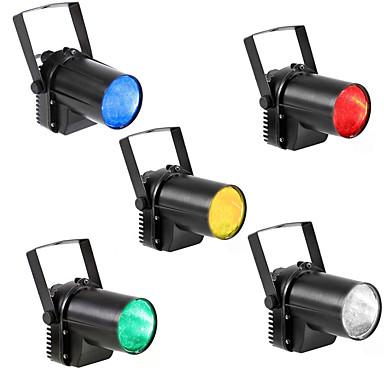 U'King 4szt Oświetlenie LED sceniczne Automatyczny 5 W na Obuwie turystyczne / Impreza / Scena Profesjonalny / a