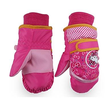 Rękawice narciarskie Dla dzieci mitenki Keep Warm Zdatny do noszenia Oddychający Wodoodporny materiał Narciarstwo Piesze wycieczki
