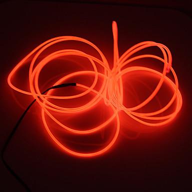 BRELONG® Łańsuchy świetlne 0 Diody LED Biały Różowy Zielony Niebieski Czerwony <5V