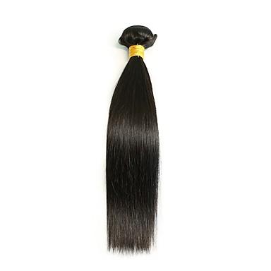 Włosy brazylijskie Włosy remy Prosto Ludzkie włosy wyplata 1szt Człowieka splotów włosów