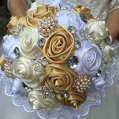 Kwiaty ślubne Bukiety Wyjątkowa dekoracja ślubna Specjalne okazje Jedwab 9,84