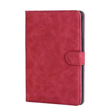 Kılıf Na jabłko iPad mini 4 Etui na karty / Z podpórką / Flip Pełne etui Jendolity kolor Twarde Skóra PU na iPad Mini 3/2/1 / iPad Mini 4 / jabłko