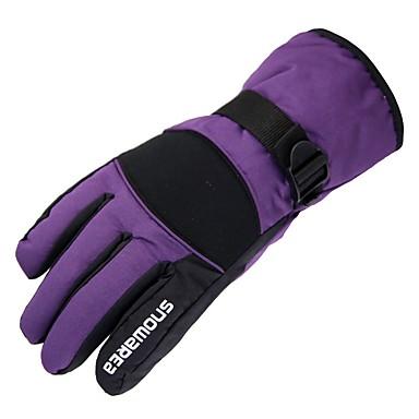 Rękawice narciarskie Dla obu płci Full Finger Keep Warm Powłoka Narciarstwo Piesze wycieczki Outdoor Exercise Kolarstwo / Rower Zima