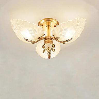 QIHengZhaoMing 3-światło Podtynkowy Światło rozproszone - Ochrona oczu, 110-120V / 220-240V, Ciepły biały, Żarówka w zestawie / 15-20 ㎡