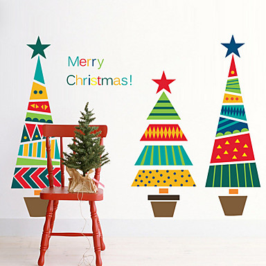 Christmas Wall Stickers Plane Wall Stickers Decorative Wall Stickers,Vinyl Material Home Decoration Wall Decal