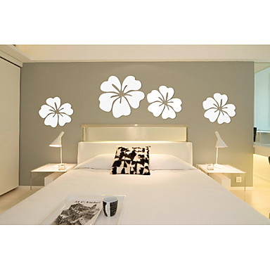 Wand-Dekor Verbundmaterial Abstrakt Wandkunst,Holz-Wand-Kunst von 4